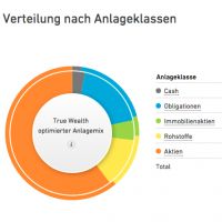 Mein Dasboard bei True Wealth